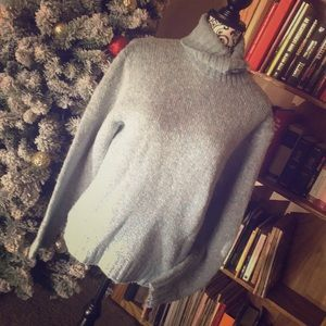 Vintage LL Bean Wool Blend Sweater Size L